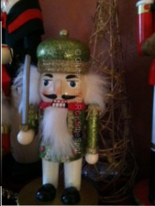Nutcracker standing guard: be prepared in your gluten-free life