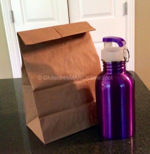 School Lunch Bag and Thermos for Gluten-free Lunch