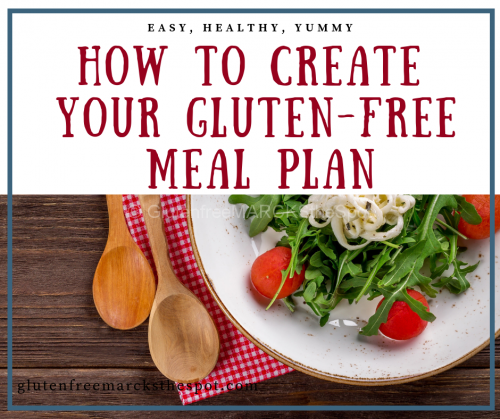 How to Create your Gluten-Free Meal Plan