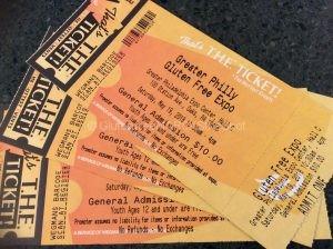 Gluten-free expo tickets