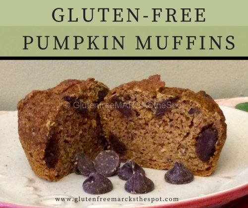 Gluten-Free pumpkin Muffins
