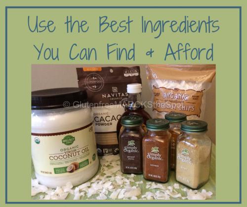 Use the best gluten-free baking ingredients