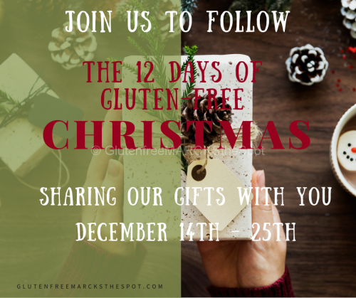 12 Days of Gluten-Free Christmas Dec 14 - 25
