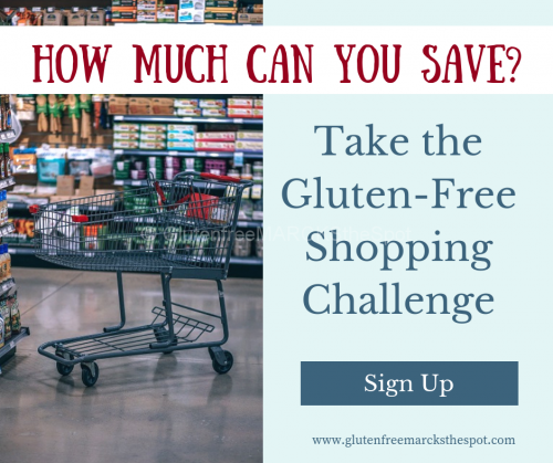 Gluten-free Shopping Challenge Sign Up