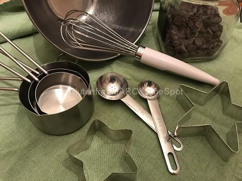 Baking Spoons and bowls
