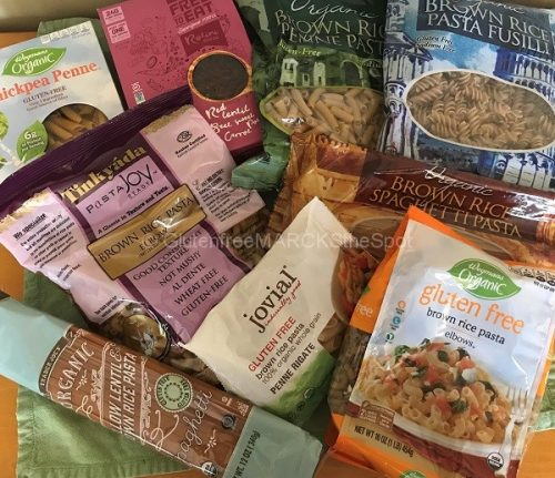 gluten-free pasta for the gluten-free pantry