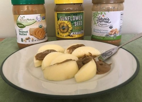 gluten-free nut butters for the gluten-free pantry