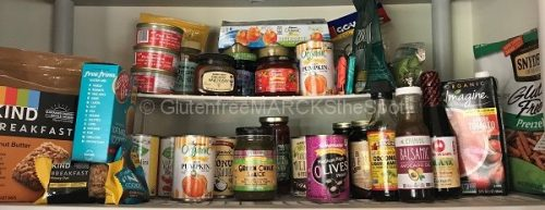 gluten-free pantry items