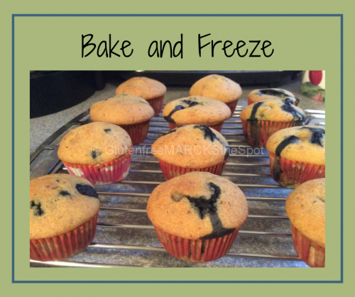 More Gluten-Free Baking Tips: Bake and Freeze
