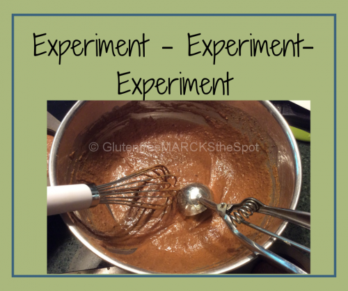 More Gluten-free Baking Tips: Experiment