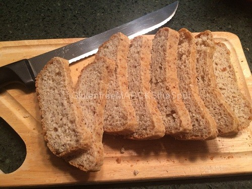 Gluten-Free Homemade Bread Sliced