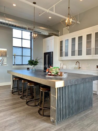 Beautiful clean gluten-free kitchen