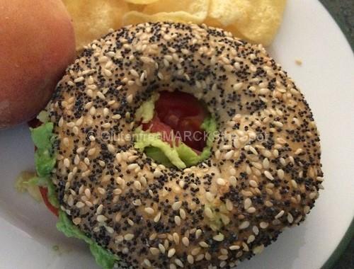 Gluten-Free Bagel Sandwich