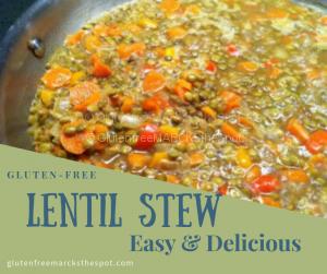 Gluten-free Lentil Stew