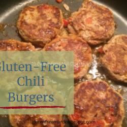 Gluten-Free Chili Burgers