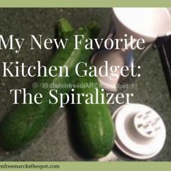 My Favorite Gluten-Free Kitchen Gadget: The Spiralizer