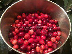 gluten-free cranberry sauce