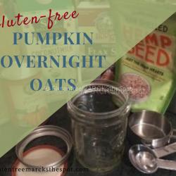 Gluten-Free Pumpkin Overnight Oats