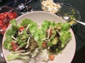 gluten-free salad wraps