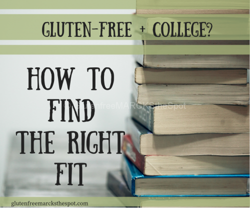 How to Find a Gluten-Free College