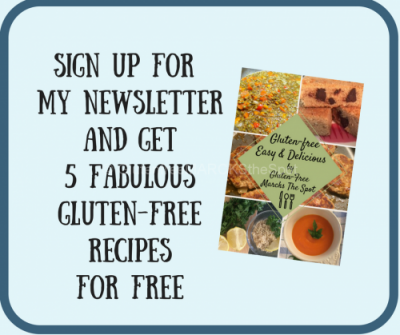 Newsletter sign up - get 5 free recipes by signing up today