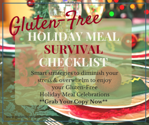 Gluten-Free Holiday Meal Survival Checklist