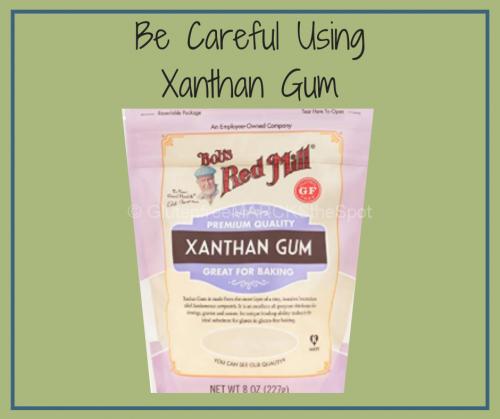Xanthan Gum in gluten-free baking