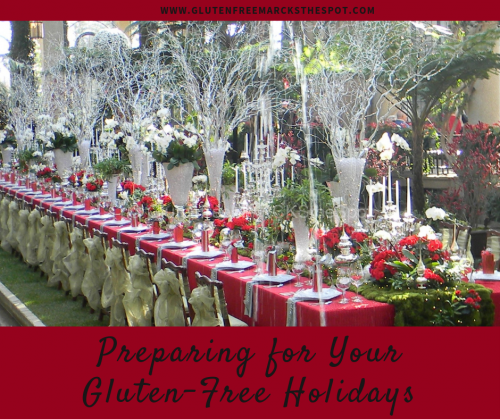 Preparing for your Gluten-Free Holidays - Holiday Table Setting