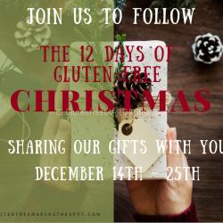 12 Days of Gluten-Free Christmas Dec 14 - 25