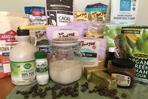 gluten-free baking items for the gluten-free pantry