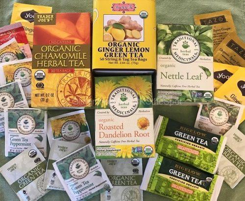 gluten-free teas for the gluten-free pantry