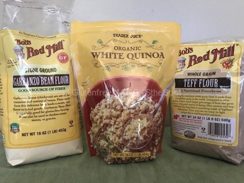 gluten-free grains for a gluten-free pantry