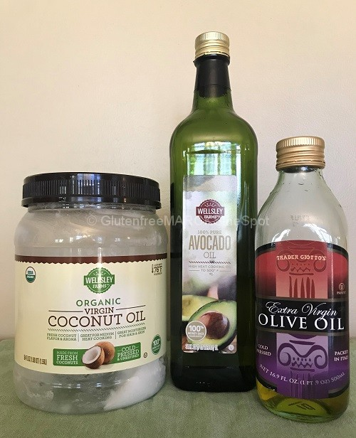 gluten-free oils for the gluten-free pantry