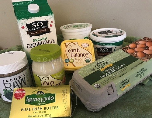 Gluten-Free Refrigerator Items