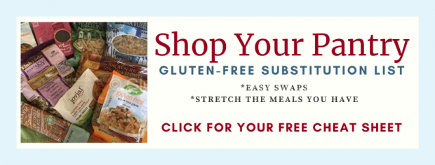 Shop Your Gluten-Free Pantry