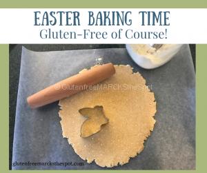 gluten-free baking for Easter