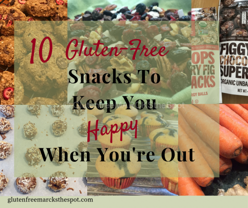 10 Gluten-Free Snacks top Keep You Happy When You're Out