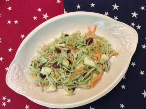 Gluten-free broccoli slaw