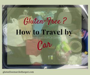 Gluten-Free Travel by Car