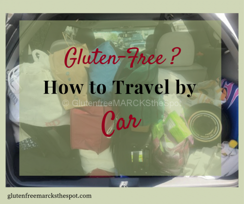 Gluten-Free Travel by Car