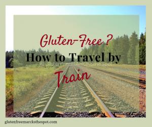 gluten-free travel by train