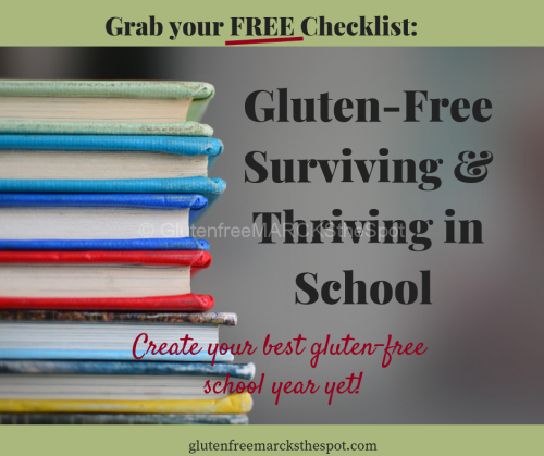 Sign Up Gluten-Free School Checklist