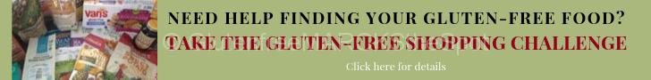 Gluten-free shopping challenge