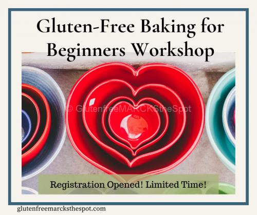 Gluten-Free Baking for Beginners Workshop