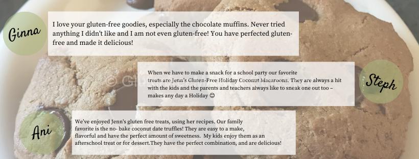 Gluten-Free baking Workshop Testimonials