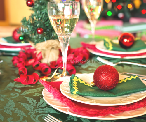 Gluten-Free Holiday Meal Table