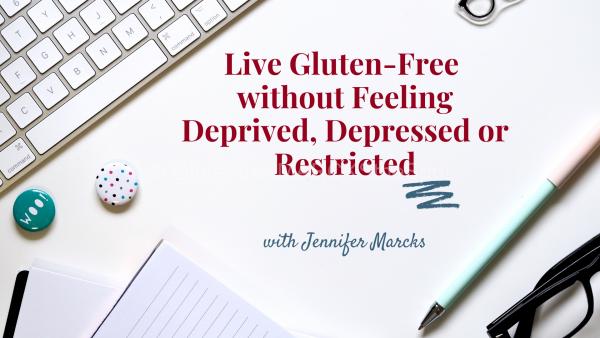 Gluten-free webinar sign up