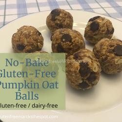 No-Bake Gluten-free Pumpkin Oat Balls