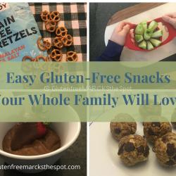 Easy Gluten-Free Snacks