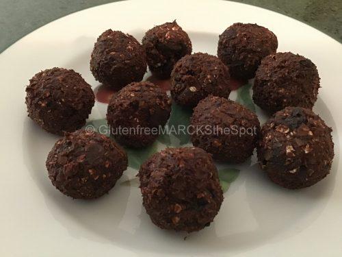 Gluten-free Chocolate Cherry Bombs